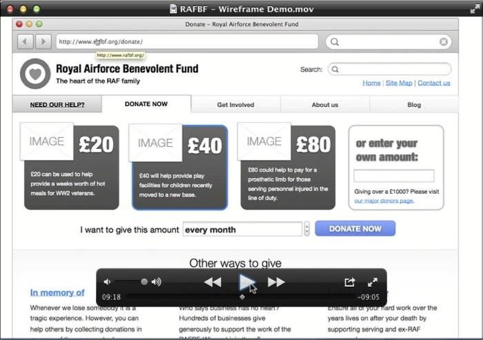 An example video presentation