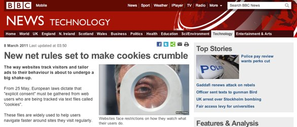 BBC news article