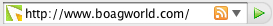 Address bar with Boagworld Favicon showing