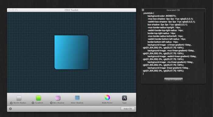 CSS3 Toolkit