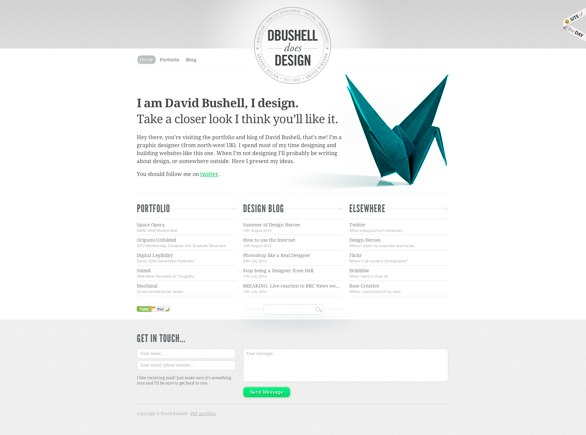 David Bushell's website