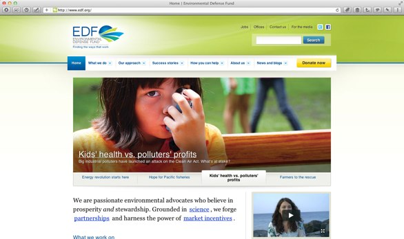 EDF.org viewed on a high resolution monitor