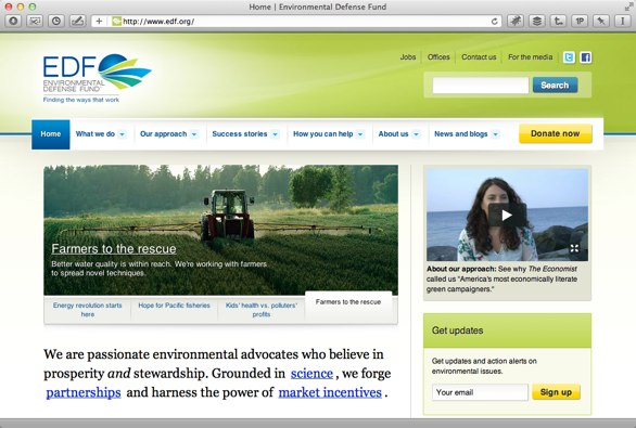 EDF.org shown at a lower resolution with content reformatted.