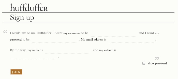 Making web forms conversational