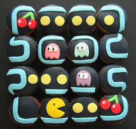 Packman Cupcakes