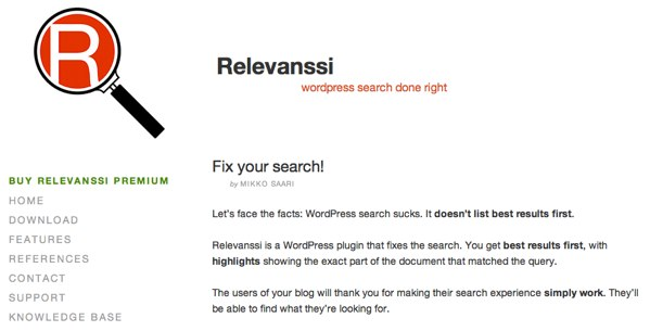 Relevanssi Search for WordPress