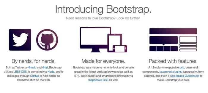 Twitter Bootstrap website