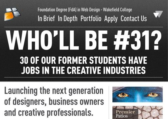 Web Design - Wakefield College