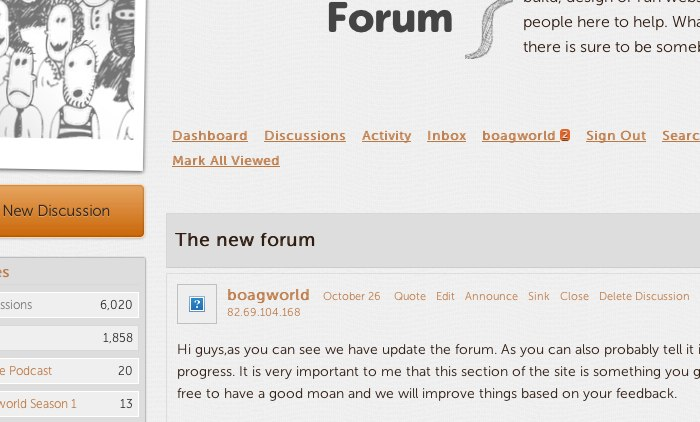 A missing image on the boagworld forum