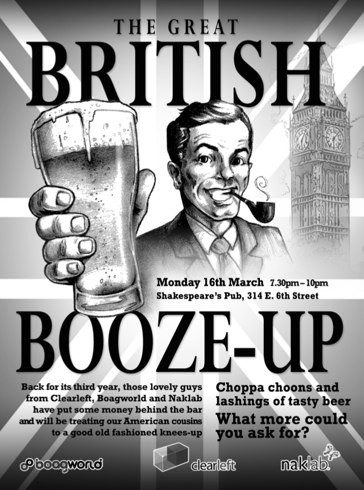 Great British Boozeup