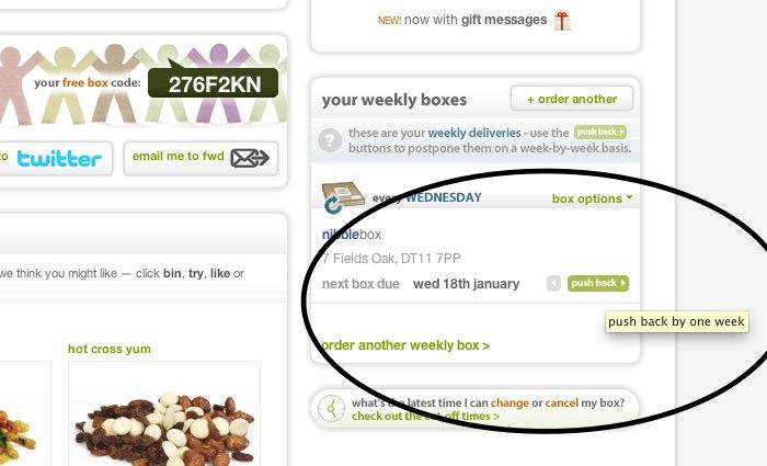Graze.com website