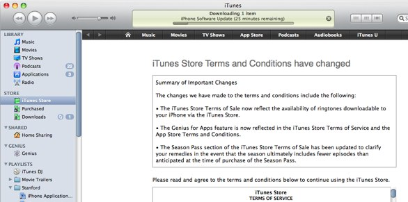 itunes terms and conditions