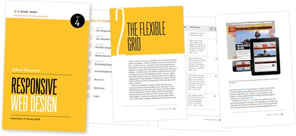 Ethan's book on responsive web design