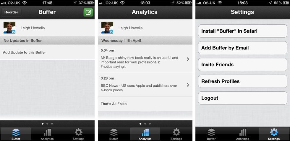 Current Buffer App