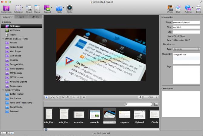 Volia Screen Capture App