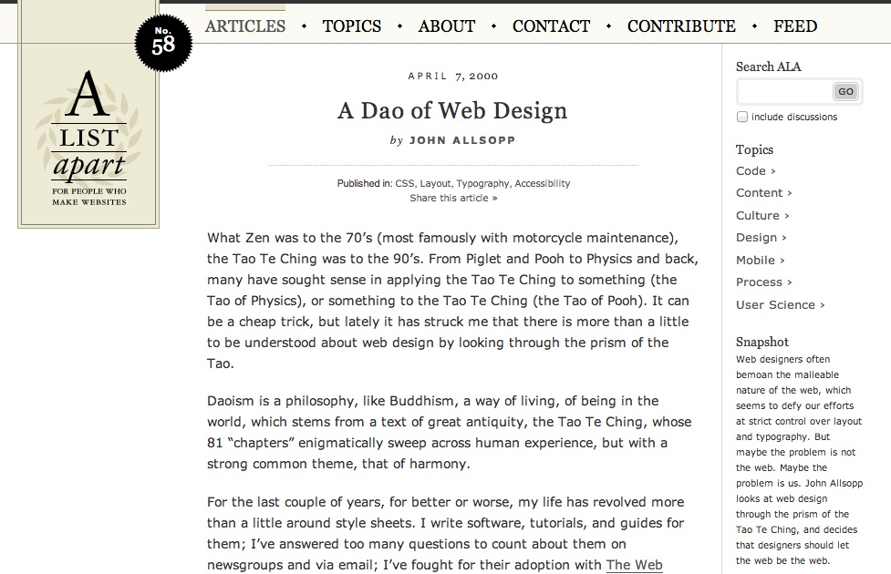 A screenshot of the article