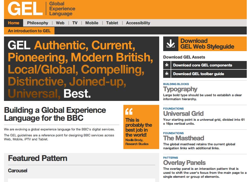 BBC Global Experience Language