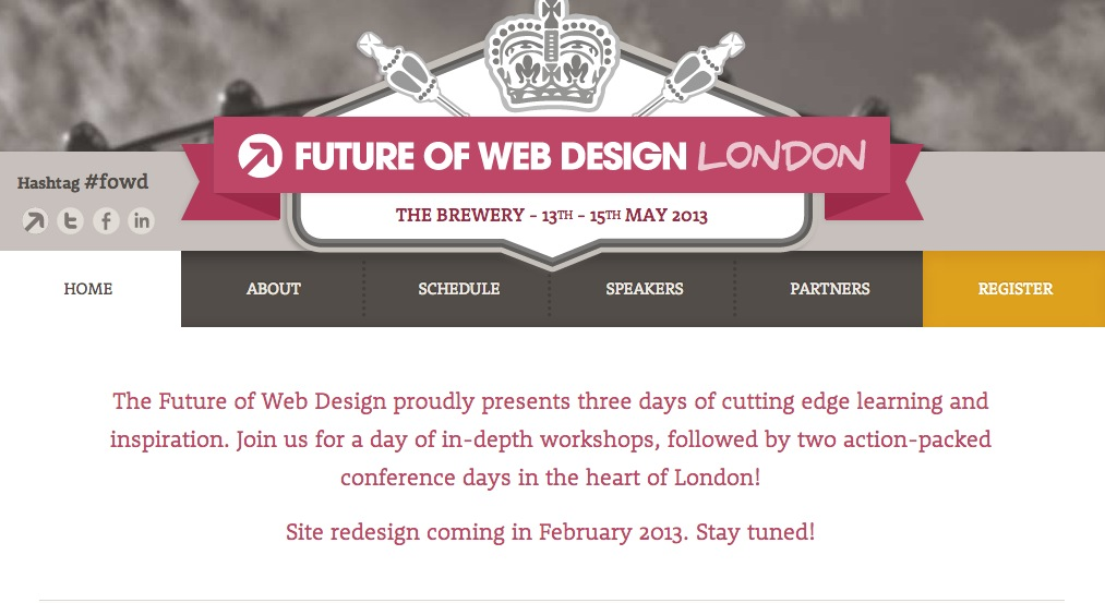 FOWD London Website