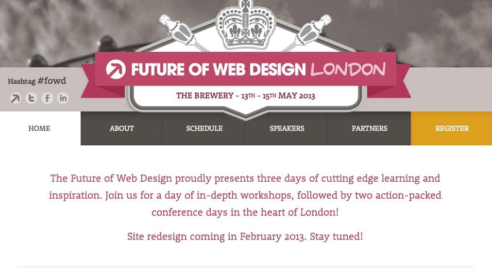 FOWD London Website