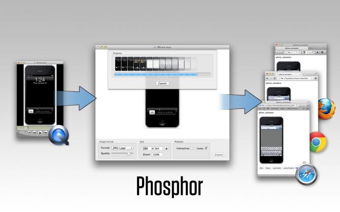 Phosphor app