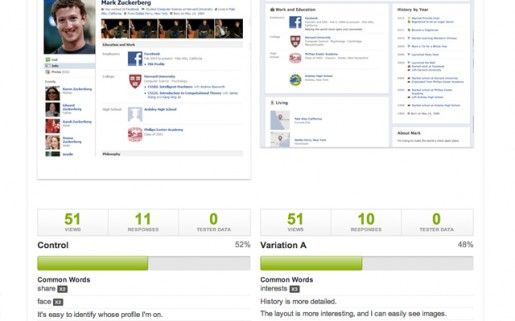 Verify App A/B Testing is great for testing design