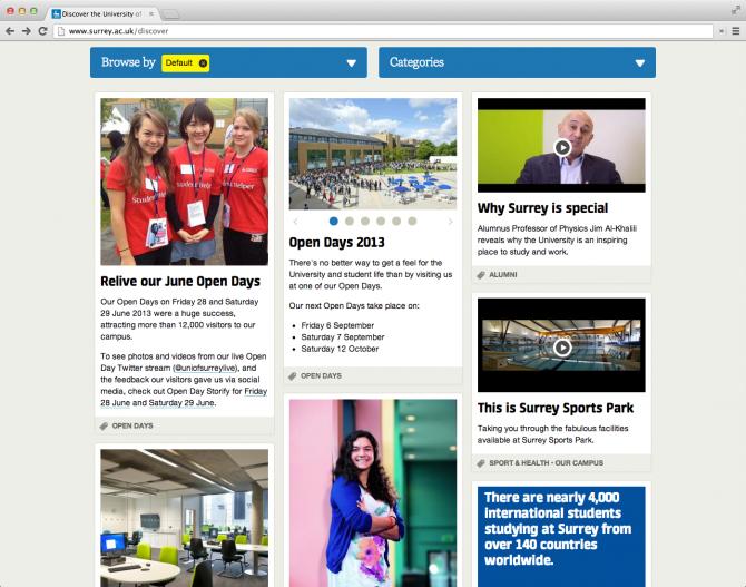 University of Surrey News