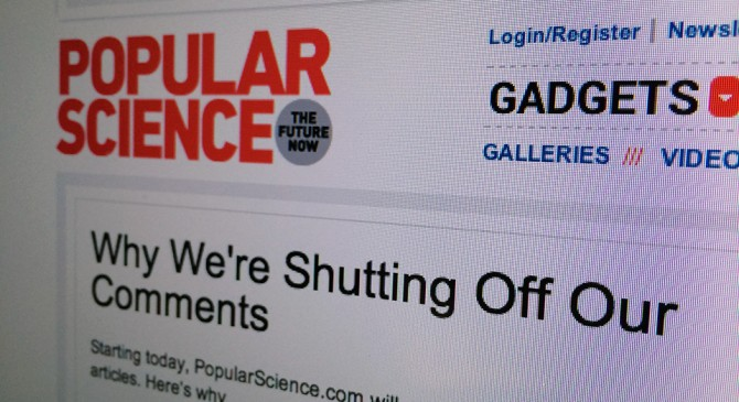 Popular Science Announcement