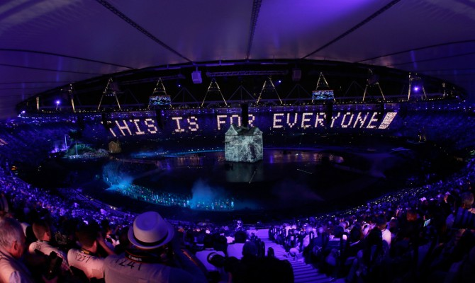 Tim Berners-Lees message at the London Olympics