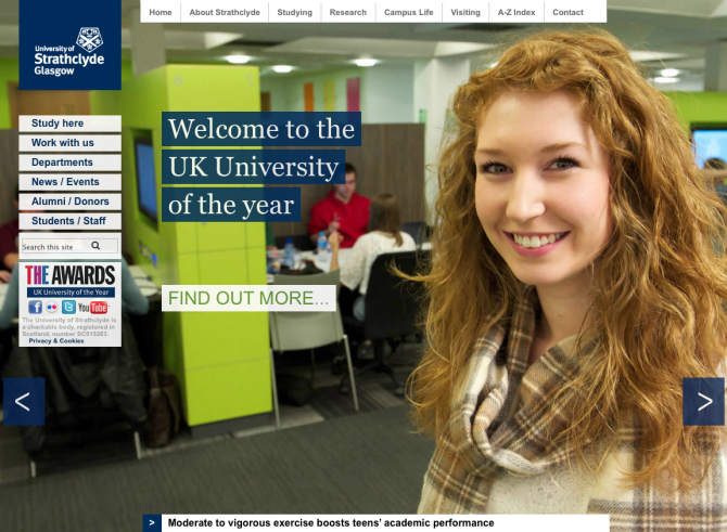 University of Strathclyde Homepage