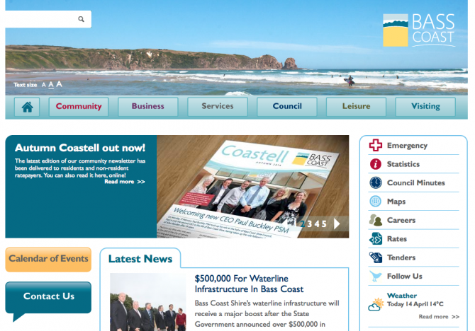 Base Coast Council Website