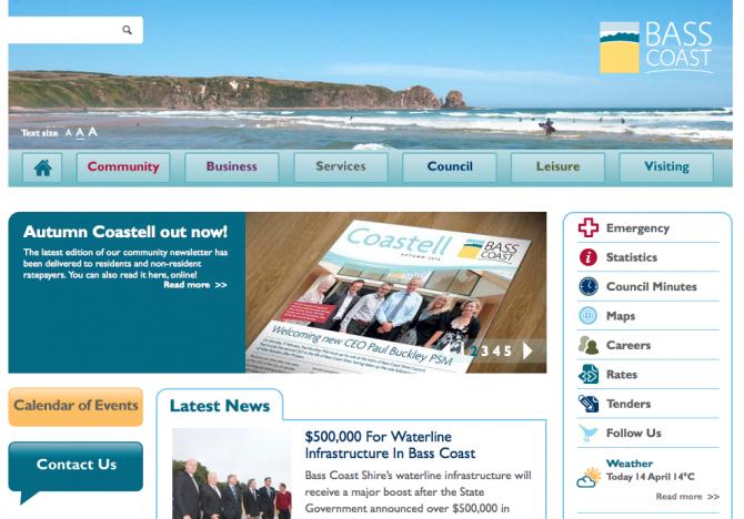 Base Coast Council Website