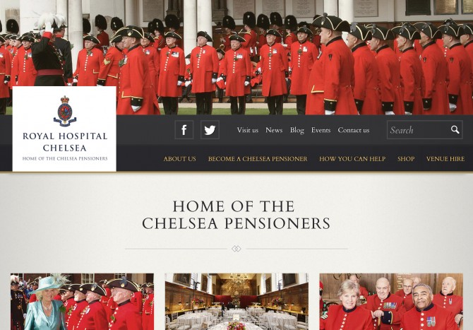 Chelsea Pensioners website