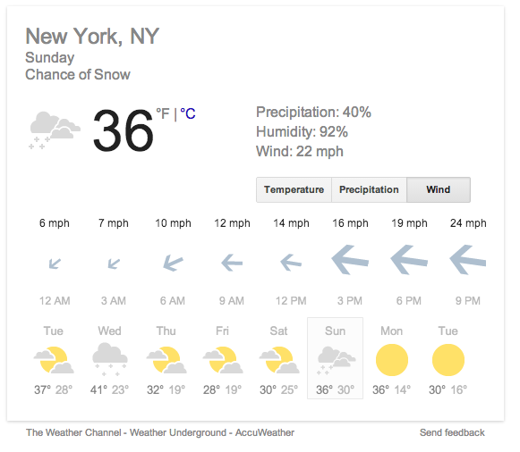 Google Weather