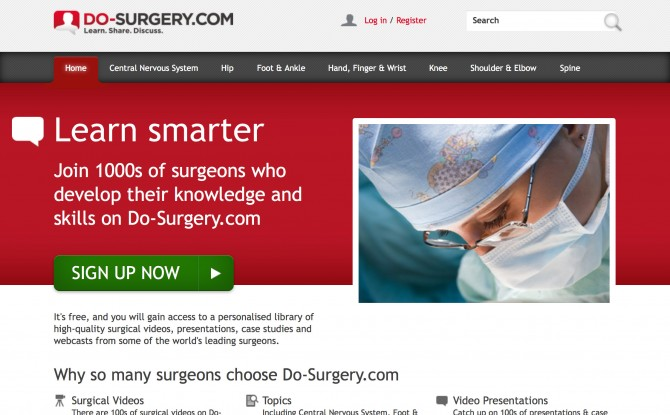 Do Surgery website