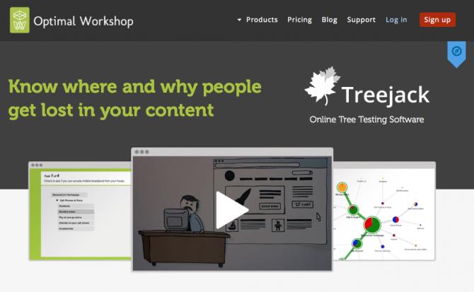Treejack
