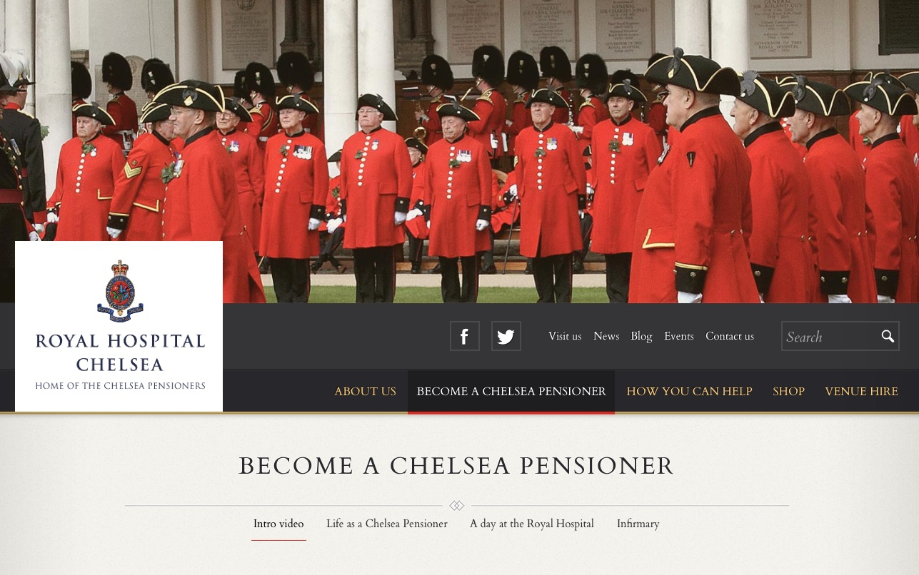 Ed has the ability to capture the essense of an organisation as he did with the Chelsea Pensioners.