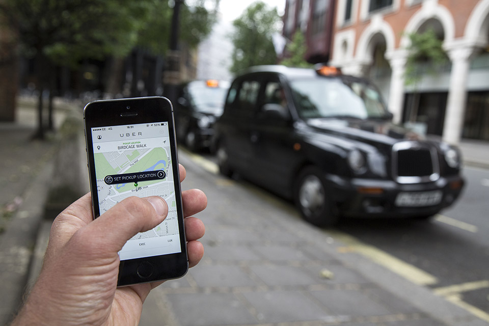 Uber offers a superb user experience through the use of digital.