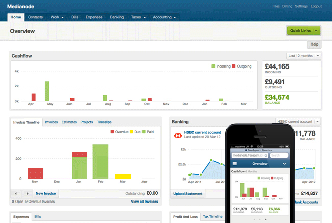 FreeAgent takes a previously complex job and makes it so simple it can be self service.