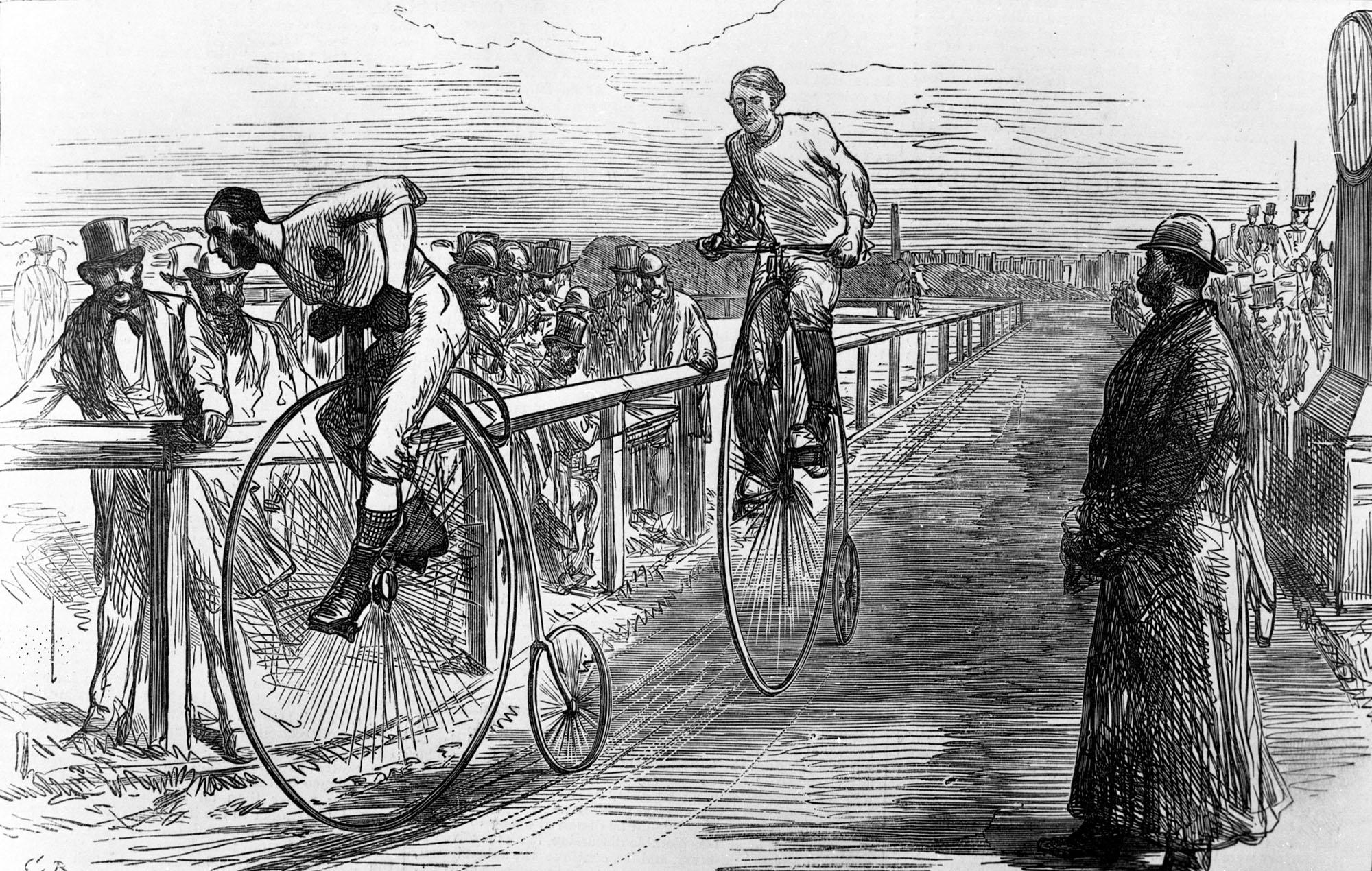 Early bike designs were widely different. But as time passed standards emerged.