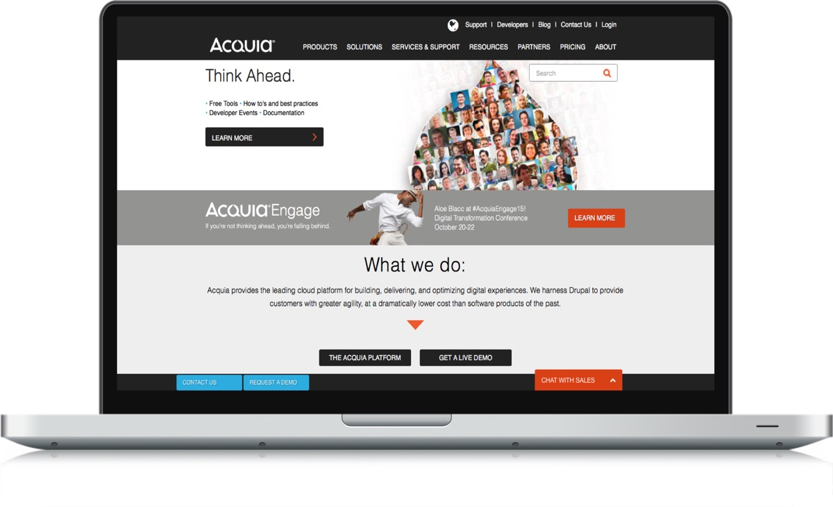 Companies like Acquia can provide the reliability, scalability and security you need from an open source platform.