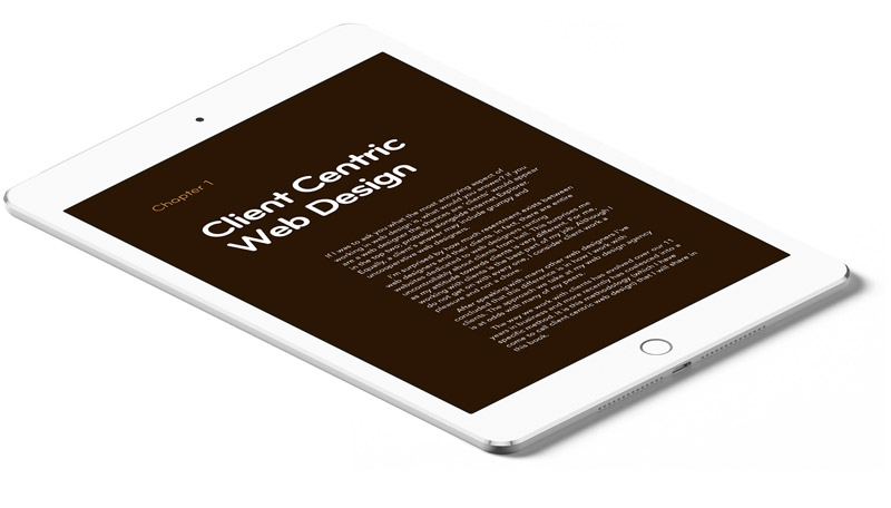 Cover of Client Centric Web Design