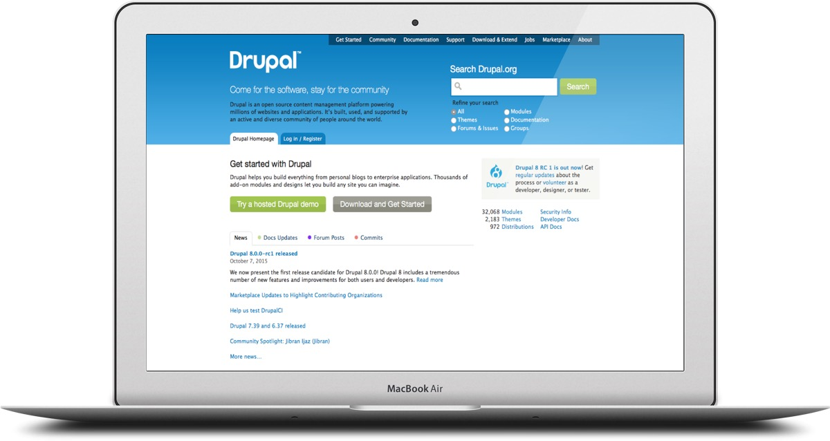 The fact that Drupal is free gives it a huge advantage.