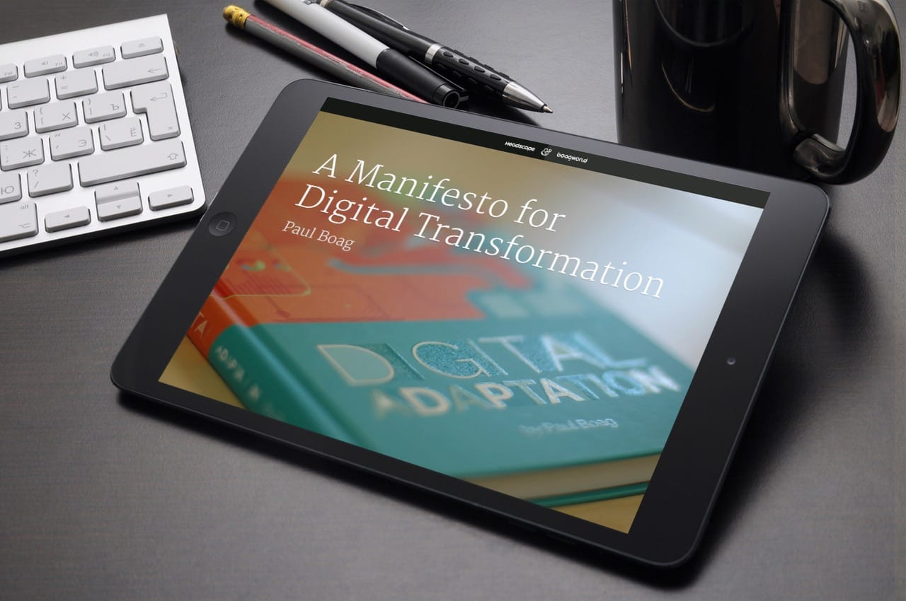 My Digital Transformation Manifesto will suggest some places to begin.