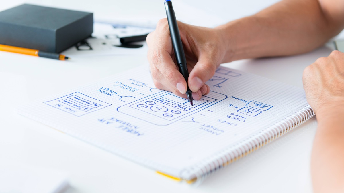 Depending on your business requirements a prototype could be a simple sketch or a working website.