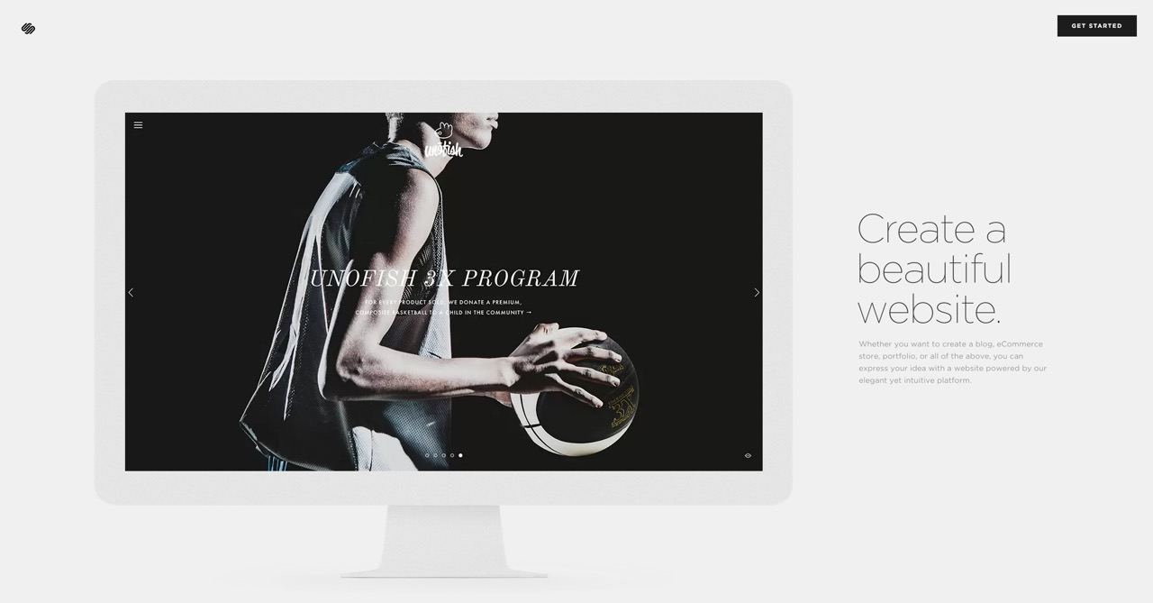 Squarespace provide beautifully designed, usable sites at a fraction of the cost of hiring a designer.